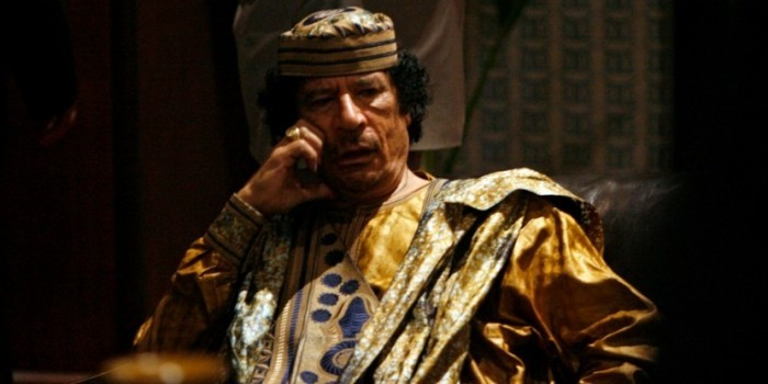 """Британские СМИ: """"пророческое предупреждение"""" Каддафи подтвердилось"""