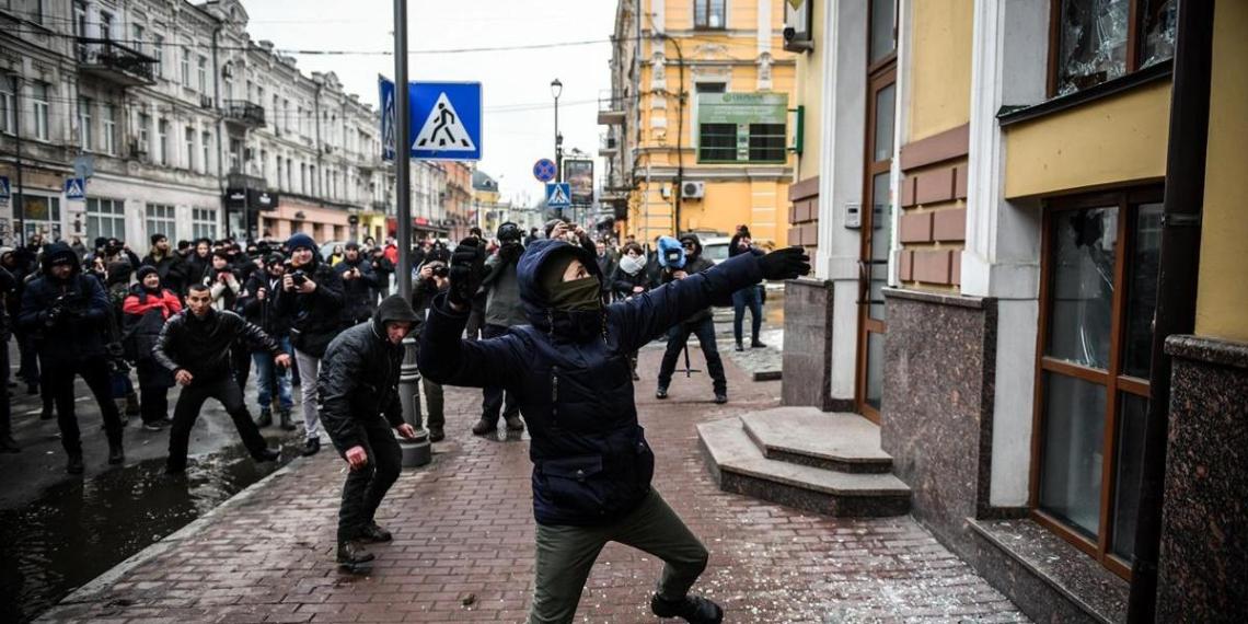 """Россия призвала США отказаться от поддержки """"пещерного национализма"""" на Украине"""