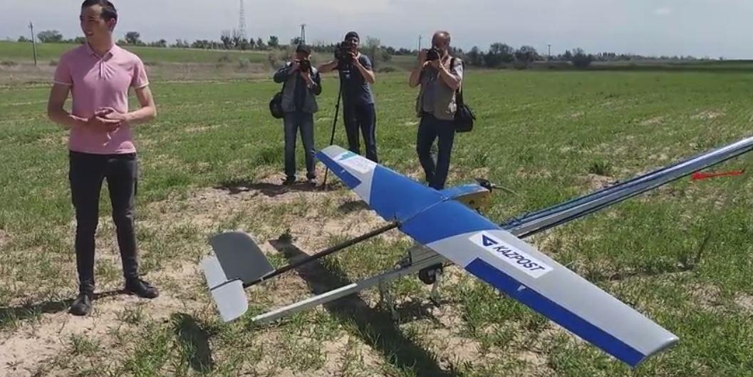 Почта Казахстана повторила провал российских коллег с дроном
