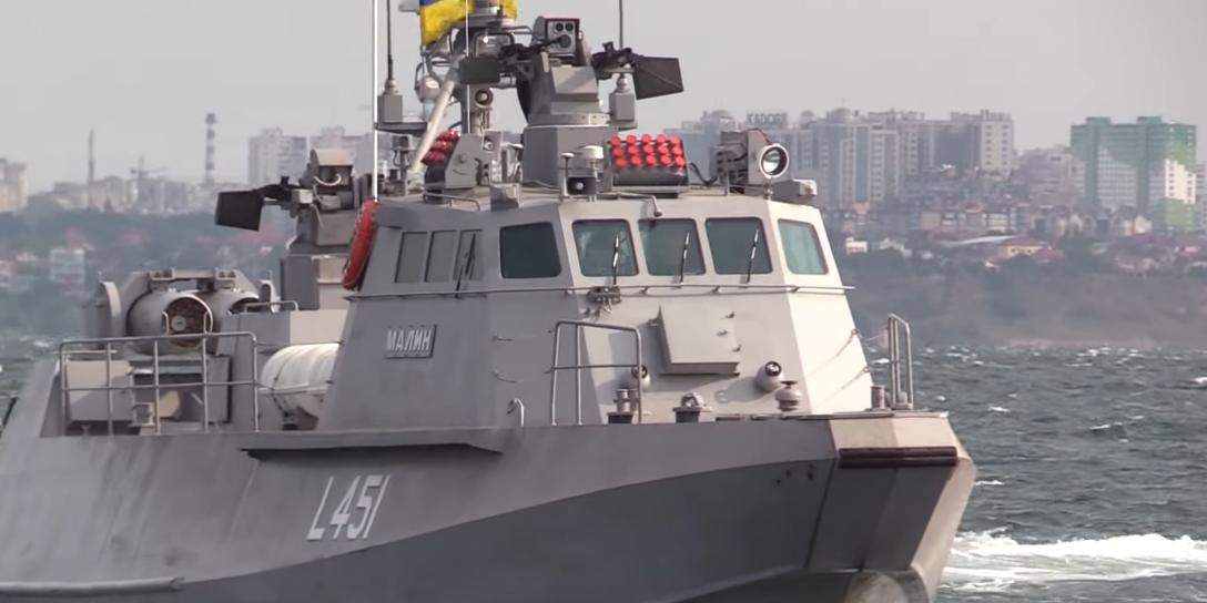 """Украина показала """"достойный ответ"""" на устаревшие десантные корабли ЧФ"""