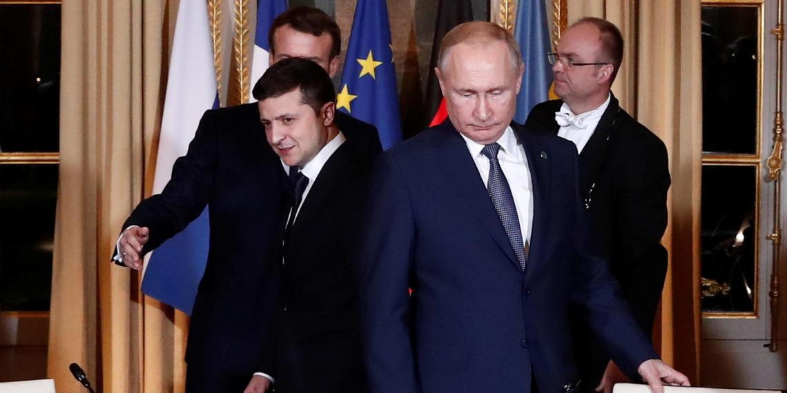 В Киеве назвали условие для встречи Зеленского с Путиным