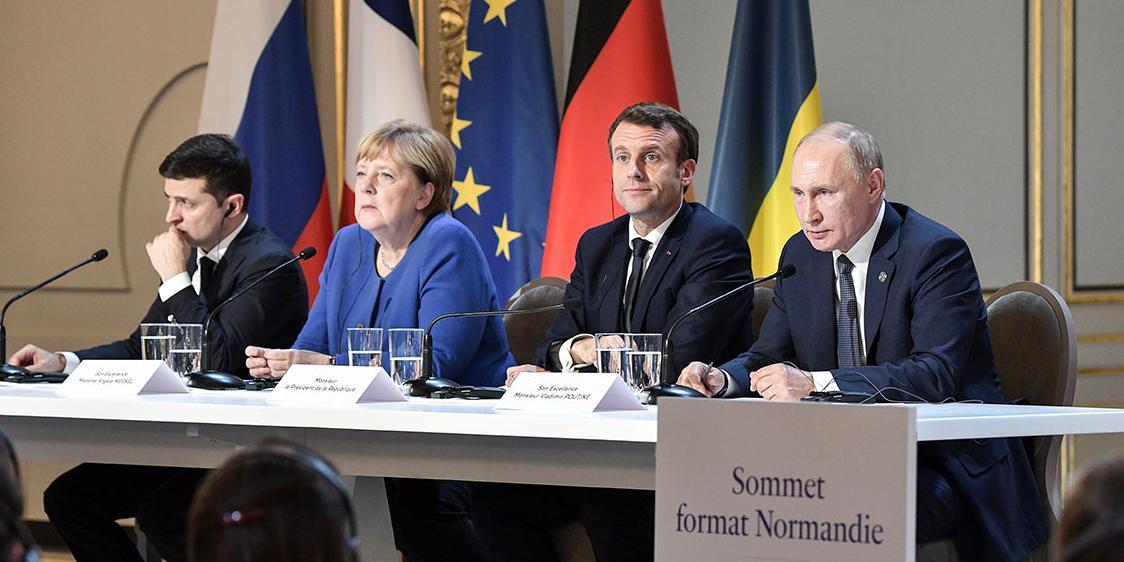 Зеленский предложил обсуждать в нормандском формате также Крым и газ