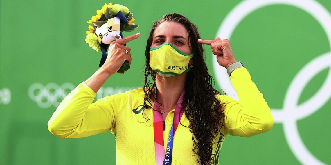 Австралийка выиграла золото на Олимпиаде благодаря презервативу