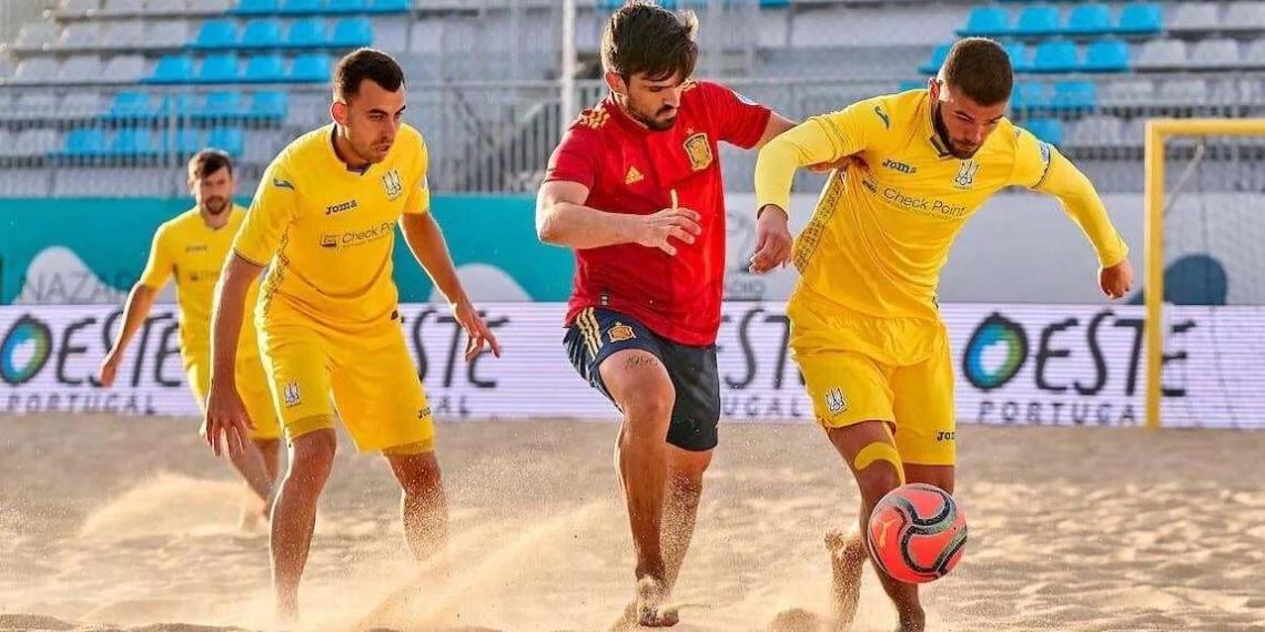 Сборная Украины отказалась от участия в ЧМ по пляжному футболу в России