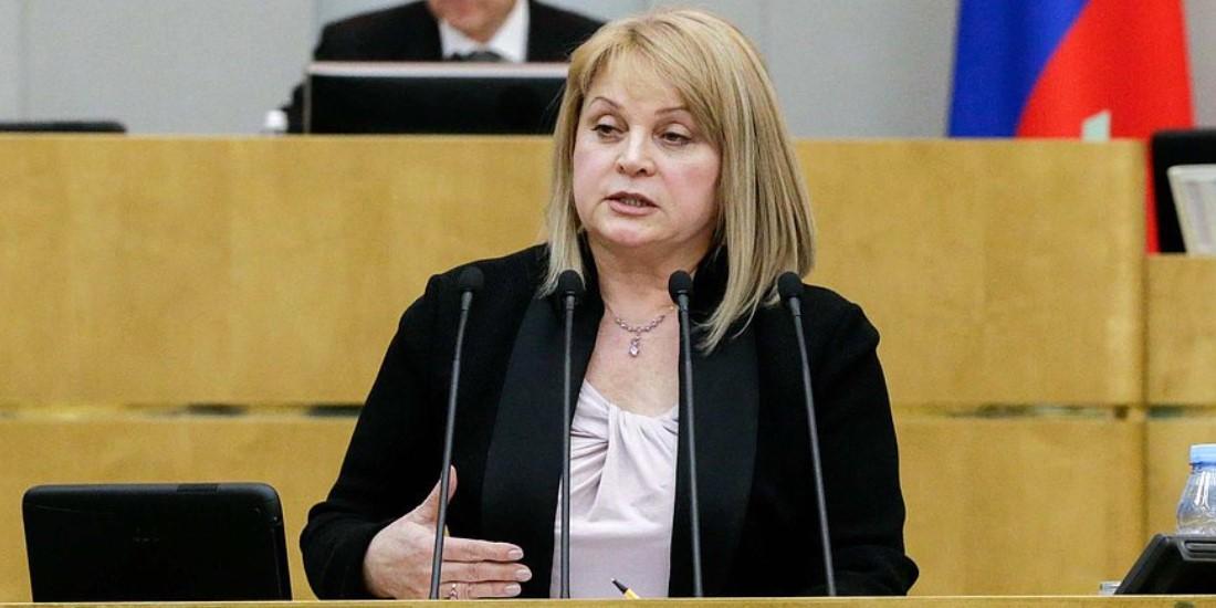 Памфилова: ОП могла бы организовать наблюдение за голосованием по поправкам в Конституцию