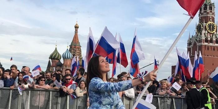 В праздновании Дня России приняли участие почти 4 млн человек