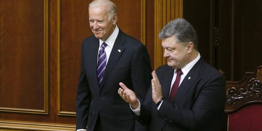 Появились новые записи переговоров Порошенко и Байдена