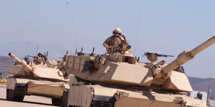 Американские военные сломали танки при переброске в Польшу