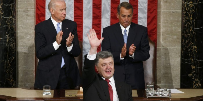 Порошенко заявил о страхе России перед союзом Украины и США