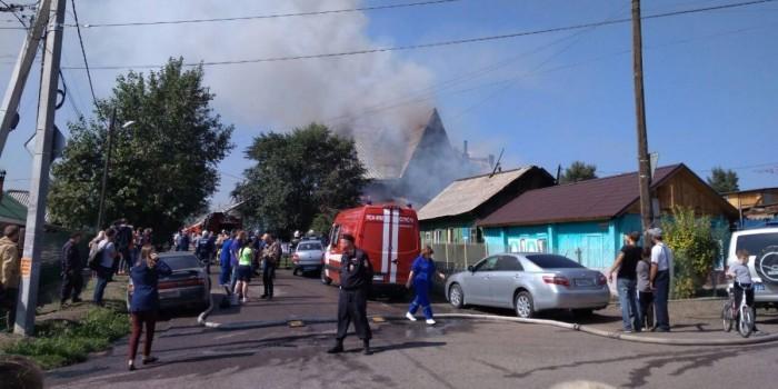 В результате пожара в красноярском доме престарелых погибли четыре человека