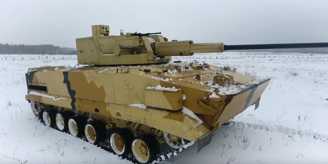 Опубликовано видео испытаний нового боевого модуля АУ-220М