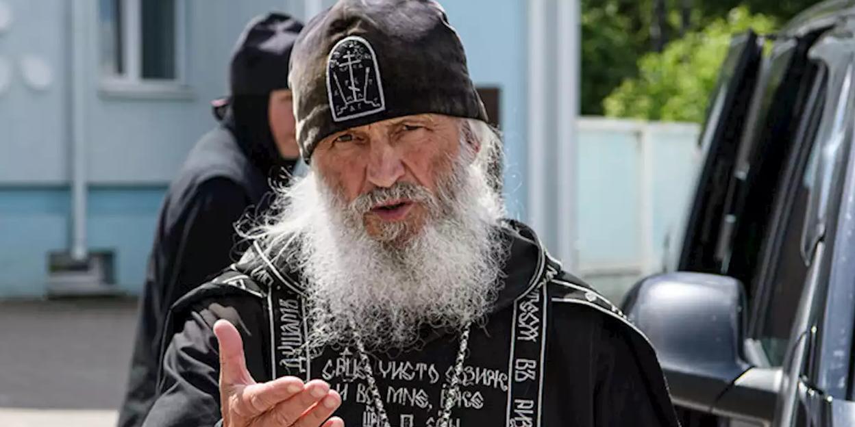 Рукоположение схиигумена Сергия признали ошибкой
