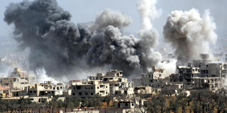 Белый дом не исключил начала боевых действий против Сирии