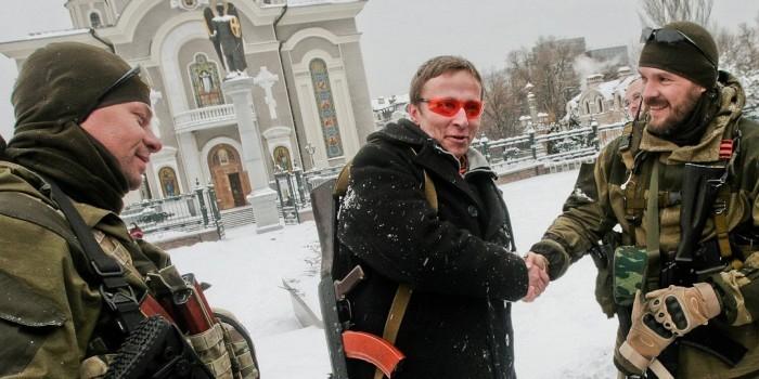 """Охлобыстин дал """"руку на отсечение"""" за то, что Высоцкий воевал бы на Донбассе"""