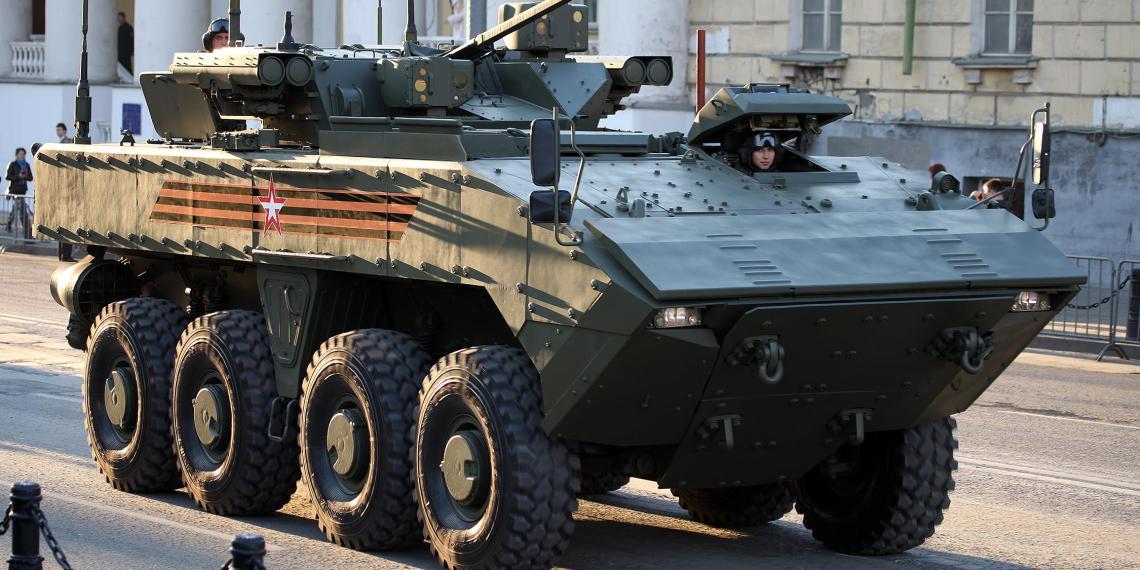 В России могут разработать колесный танк