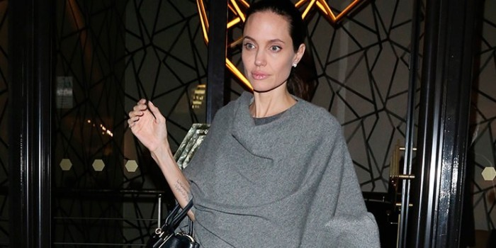 Папарацци запечатлели нынешнее состояние Анджелины Джоли