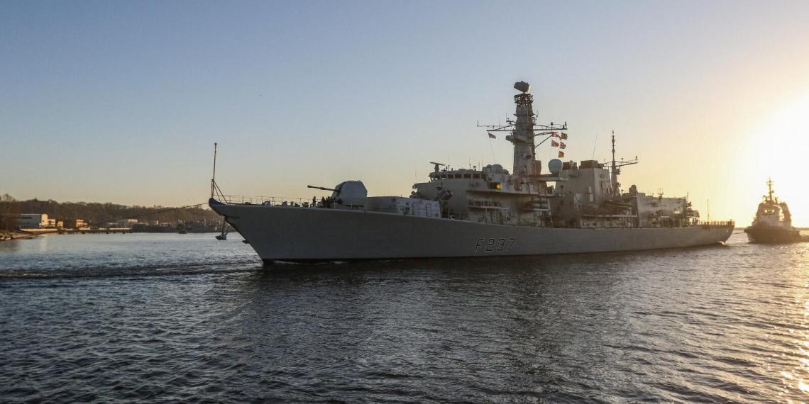Великобритания направит военные корабли в Черное море в знак солидарности с Украиной