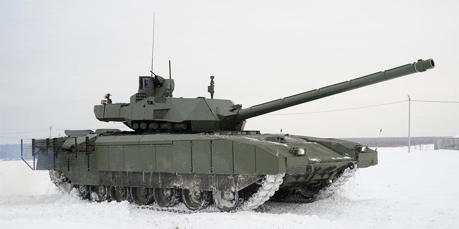 """В ВПК раскрыли основные задачи танка """"Армата"""""""