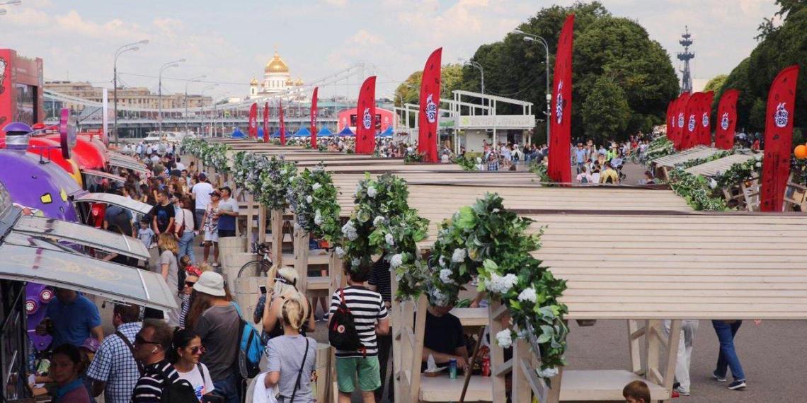 Мероприятия в столичном Парке Горького посетило более 160 тысяч человек