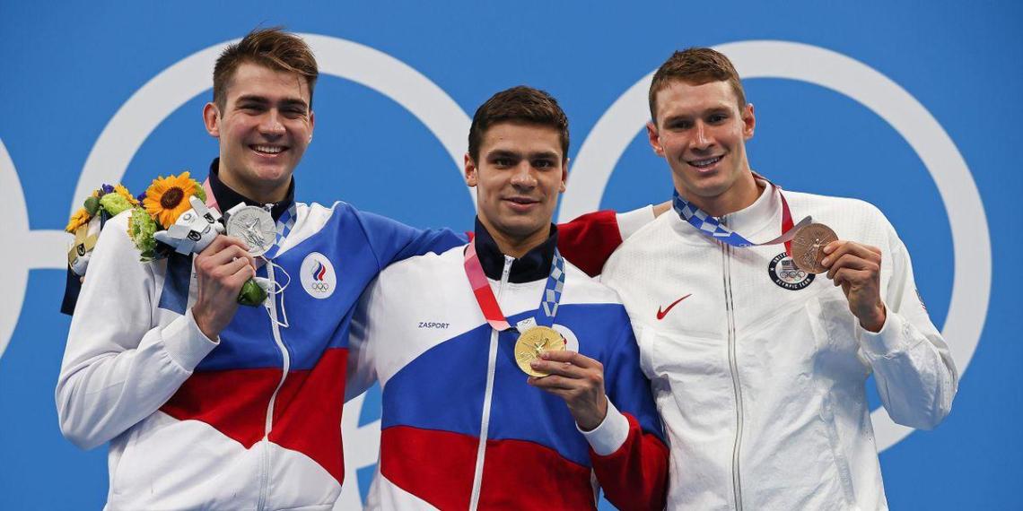 Россия завоевала первое за 25 лет олимпийское золото в плавании
