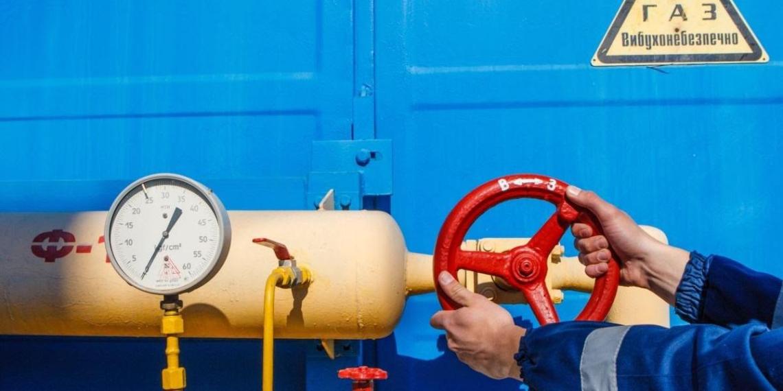 Запасы газа на Украине резко упали