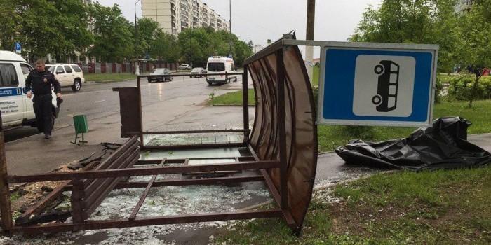 Из-за урагана в Москве погибли одиннадцать человек