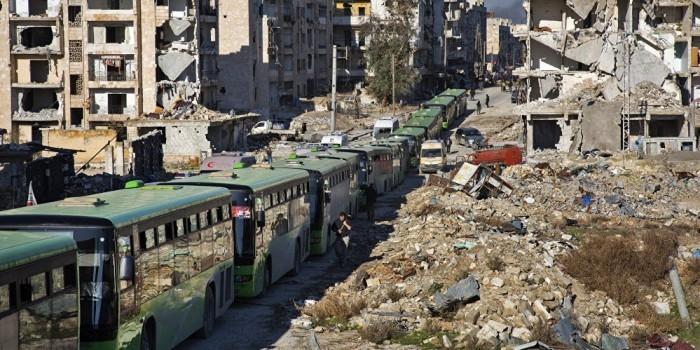 Минобороны ввело в Алеппо батальон военной полиции