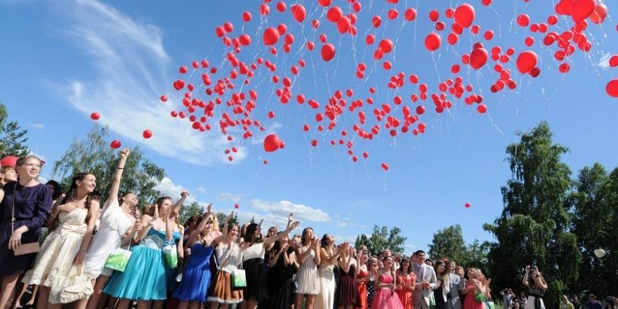 Запущенные выпускниками шарики лишили света 34 тысячи жителей Якутска