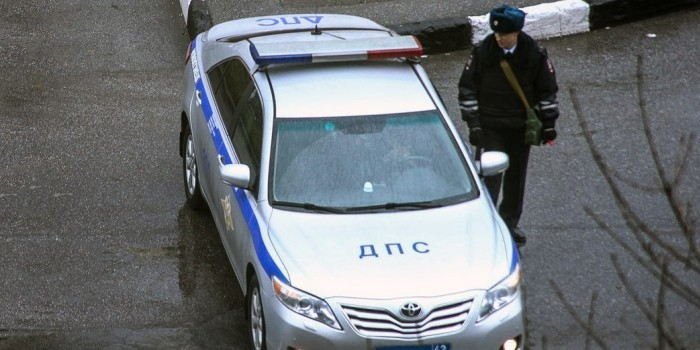 Жительница Петербурга избила троих сотрудников ДПС