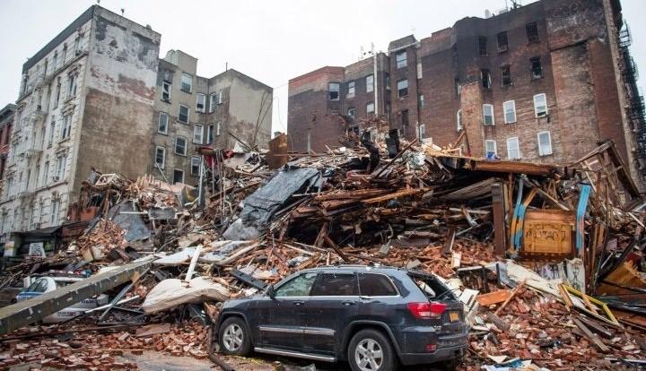 Причиной взрыва здания на Манхэттене стала попытка эмигрантов из Украины воровать газ