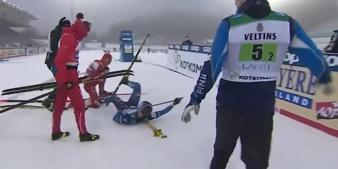 Финский лыжник решил не подавать заявление на Большунова