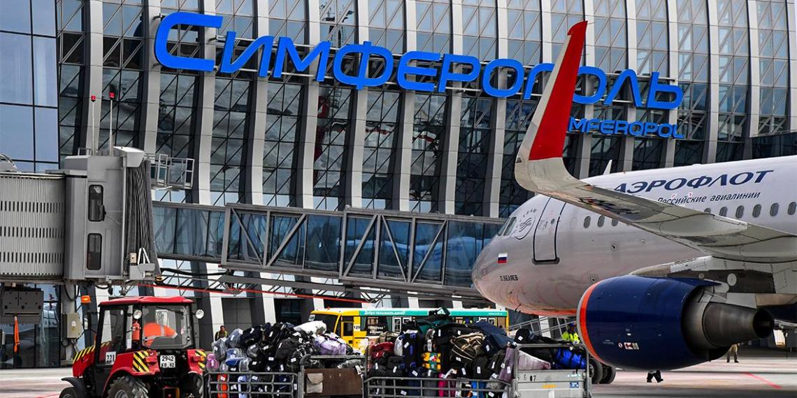 Украина наложила арест на российские самолеты за полеты в Крым