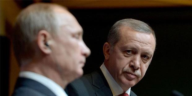 В Кремле раскрыли детали разговора Путина и Эрдогана