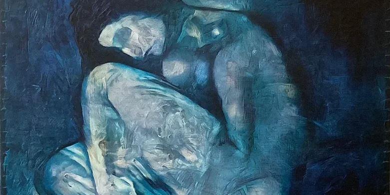 Нейросеть восстановила скрытое изображение под картиной Пикассо