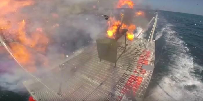 США испытали в Персидском заливе лазерное оружие