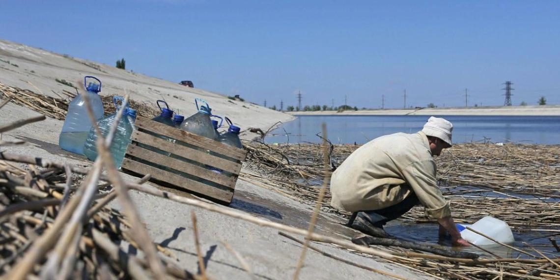 На Украине назвали условие для подачи воды в Крым