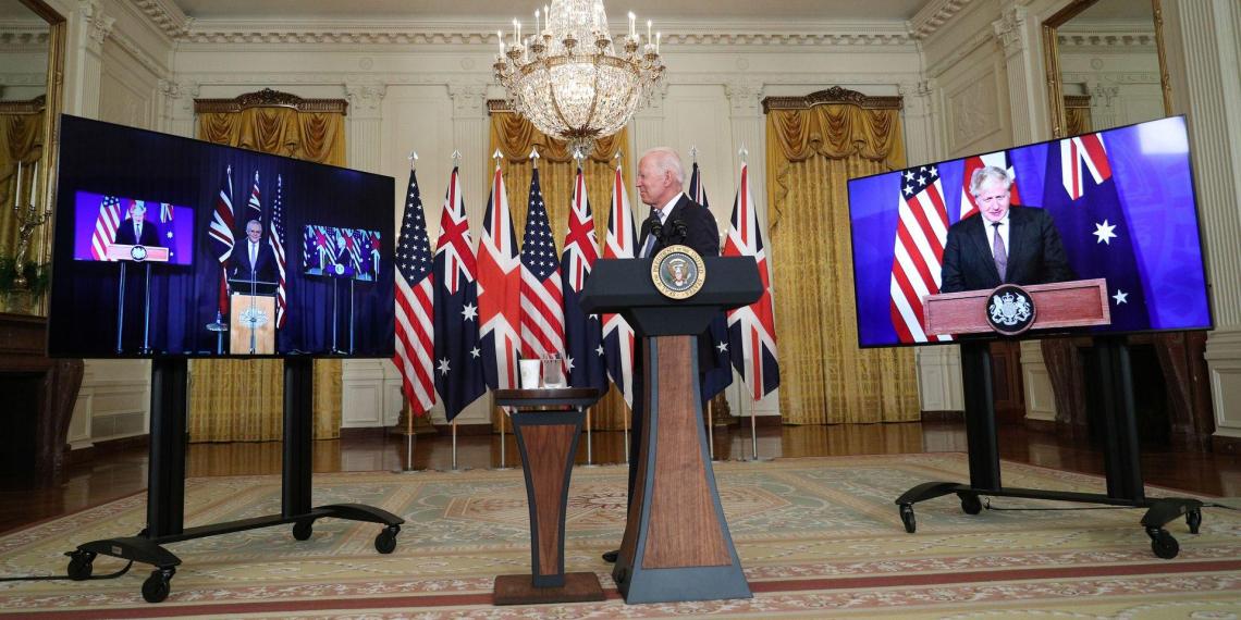 США, Австралия и Британия объявили о создании военного альянса AUKUS