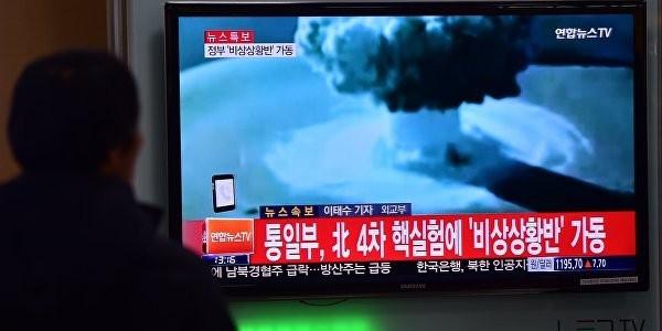 Путин поручил проверить заявления КНДР об испытании водородной бомбы