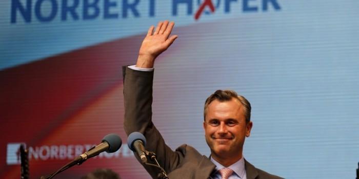 На выборах президента Австрии лидирует сторонник воссоединения Крыма с Россией