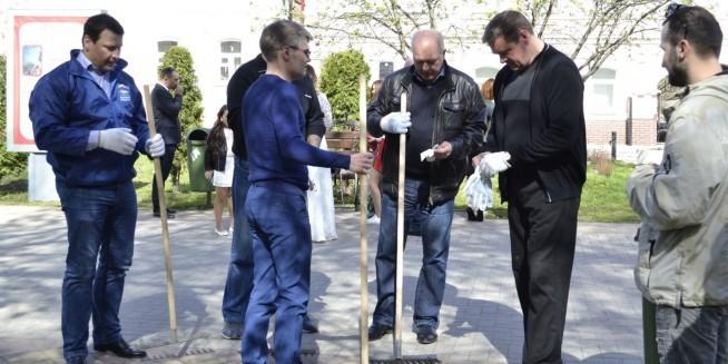 Во всероссийском экосубботнике принял участие губернатор Рязанской области