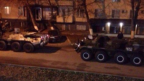 В центре Грозного идет перестрелка с боевиками, введен режим КТО