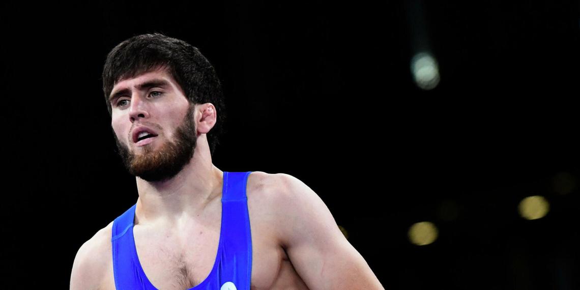 Борец Заур Угуев стал олимпийским чемпионом