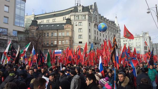 """Число участников акции """"Антимайдан"""" составило 40 тысяч человек"""