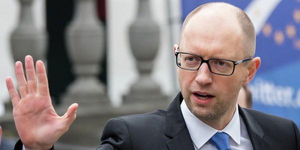 """Яценюк обратился к Евросоюзу с просьбой отказаться от """"Северного потока-2"""""""