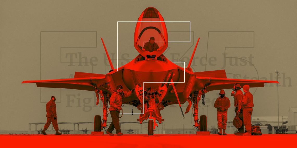 Помпаж технологий. Почему США признали провал истребителя F-35