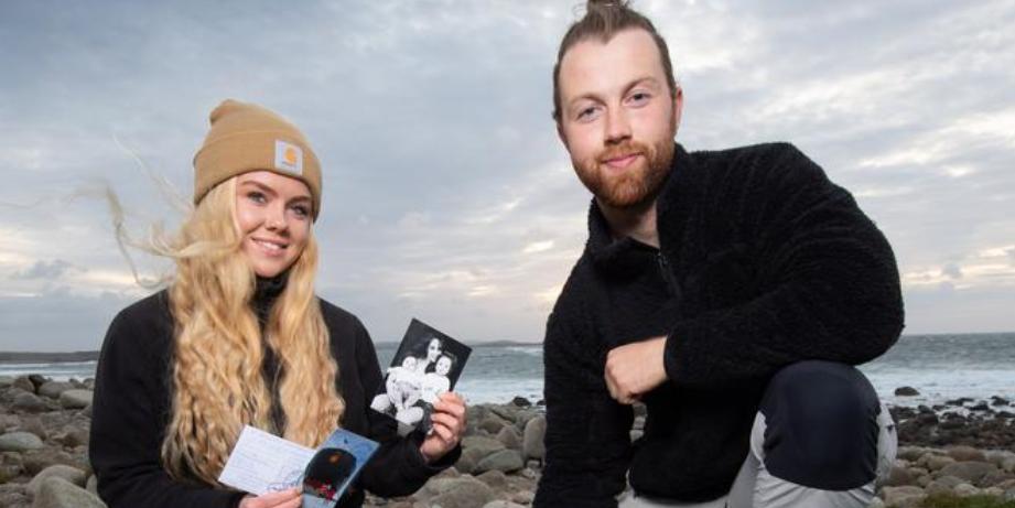 Ирландские серферы нашли капсулу времени с российского ледокола