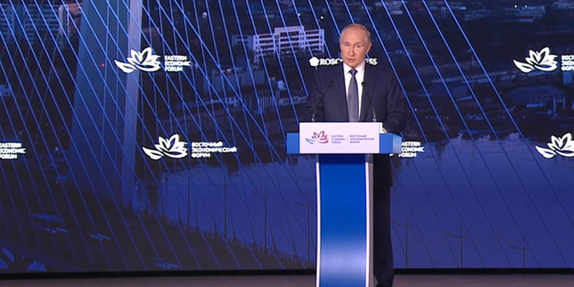 Путин с трибуны ВЭФ объявил о запуске проекта строительного кластера в Хабаровском крае