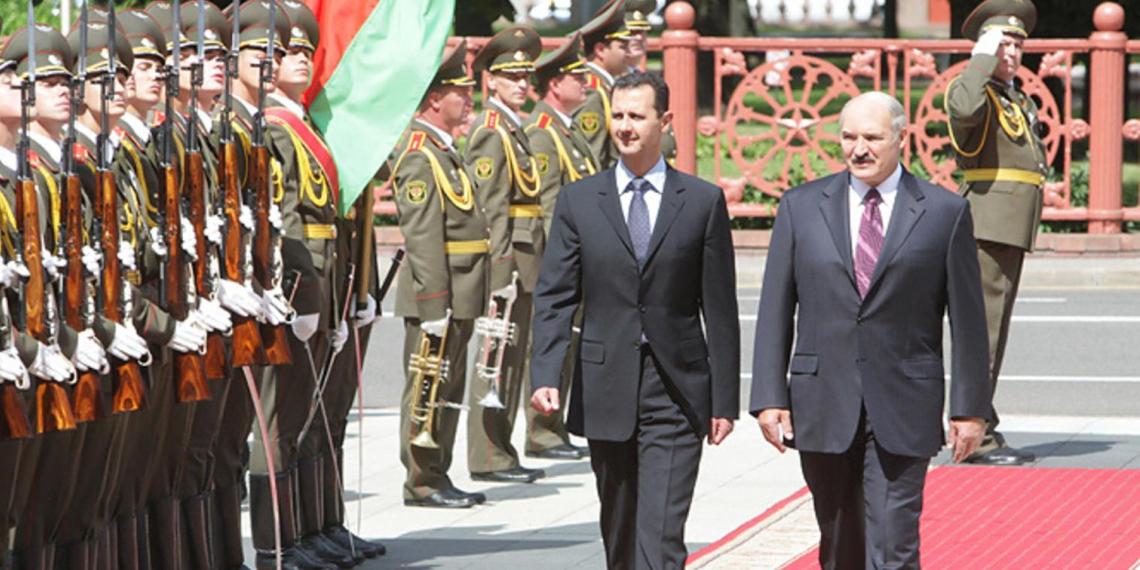 Асад поздравил Лукашенко с инаугурацией