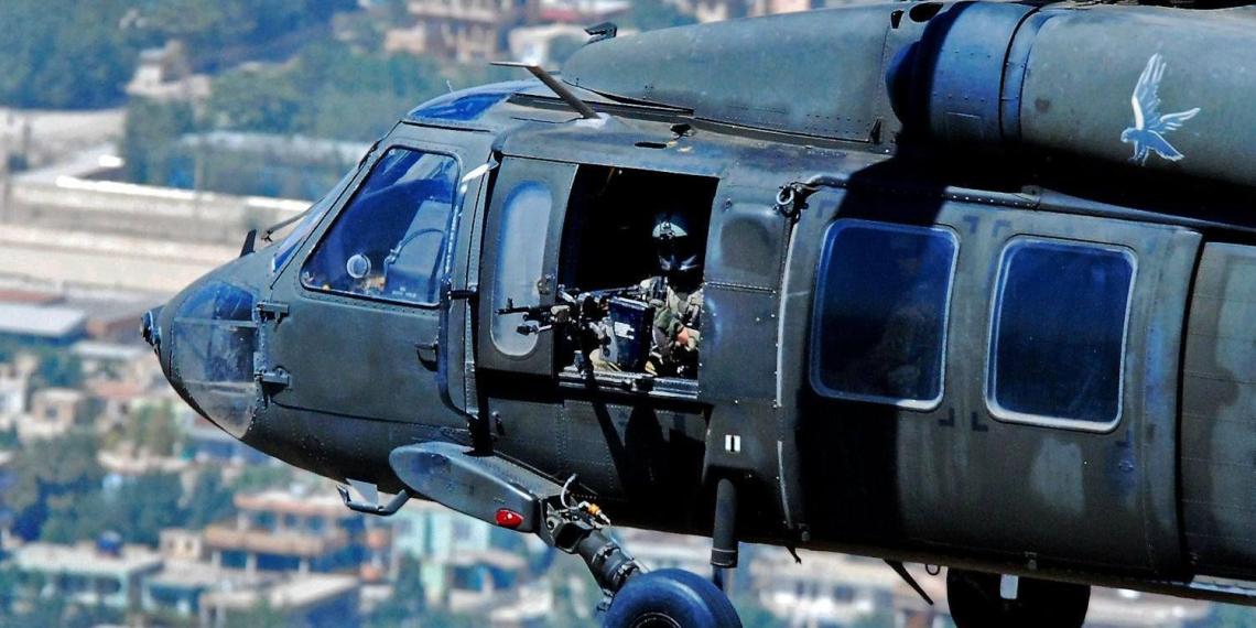Американские военные расстреляли людей из вертолета в Кабуле: трое убитых, десять раненых
