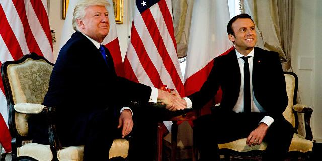 Трамп предложил Макрону торговые преференции за выход Франции из ЕС